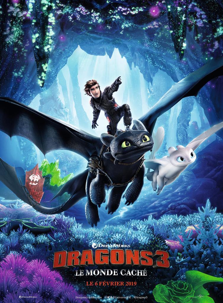 Dragons 3 : le monde caché / Dean DeBlois |